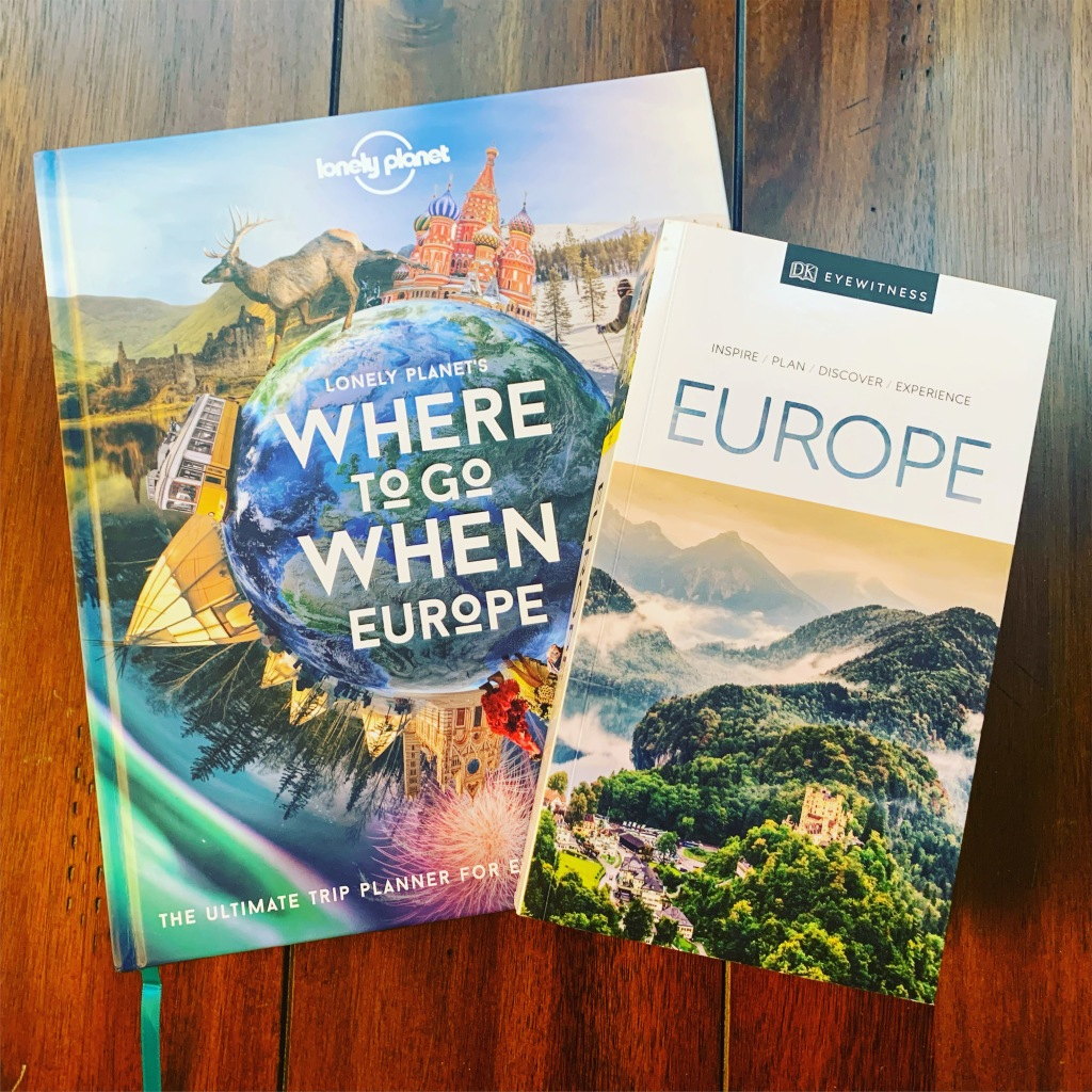 My two favorite travel guides